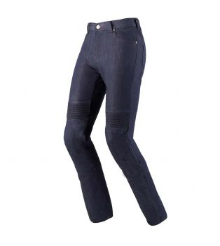 Pantaloni Flex Denim Blu Scuro Slavato