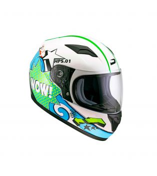 Casco HP5.01 Kid Wow White