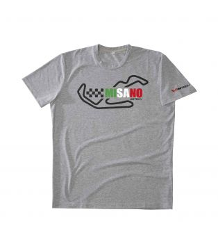 T-Shirt Temples Of Speed Misano Grigio