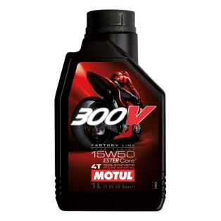 Olio Motore 300V Factory Line Road Racing 15W50