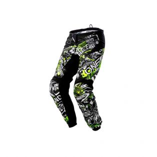 Pantaloni Element Attack Nero/Hi-Viz