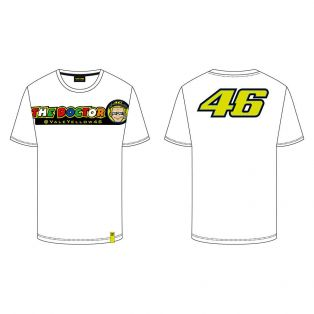 T-Shirt The Doctor/46 Bianco