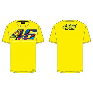 T-Shirt Logo 46/46 Giallo