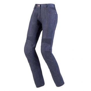 Pantaloni Flex Denim Lady Blu Scuro Slavato