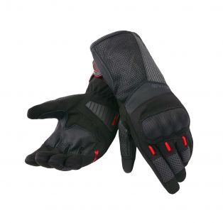 Guanti Travelproof Aqvadry Cee Nero/Anthracite/Rosso