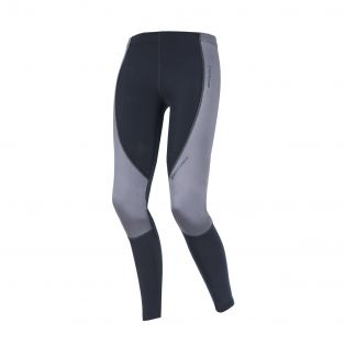 Sottopantaloni Travel Warm Antivento Lady Nero
