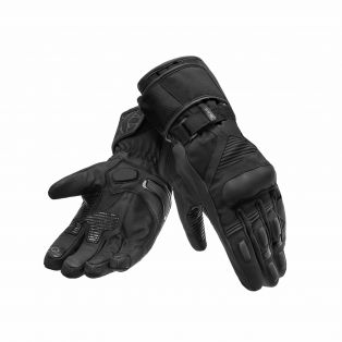 Guanti Defender Waterproof Certificato Nero