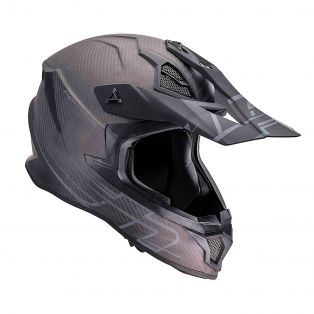 Casco HP8.51 100% Carbon Nero Opaco